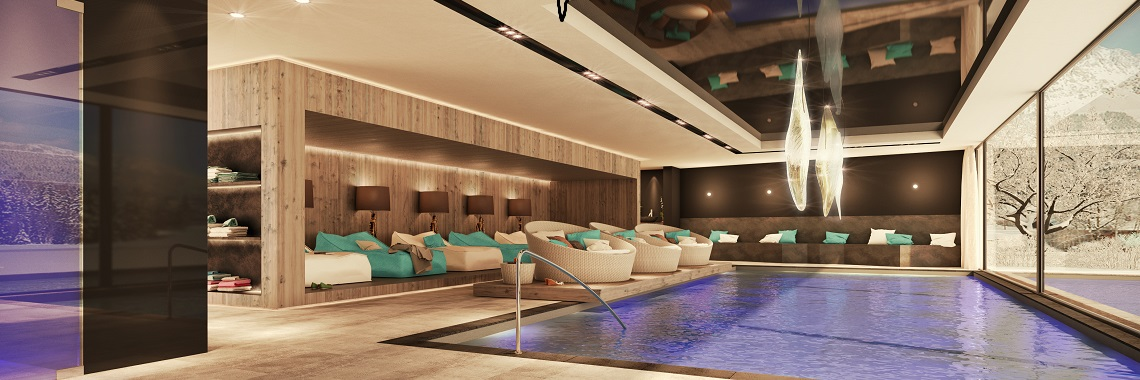 Kristall Spaces St Anton Apartments 2015 Pool