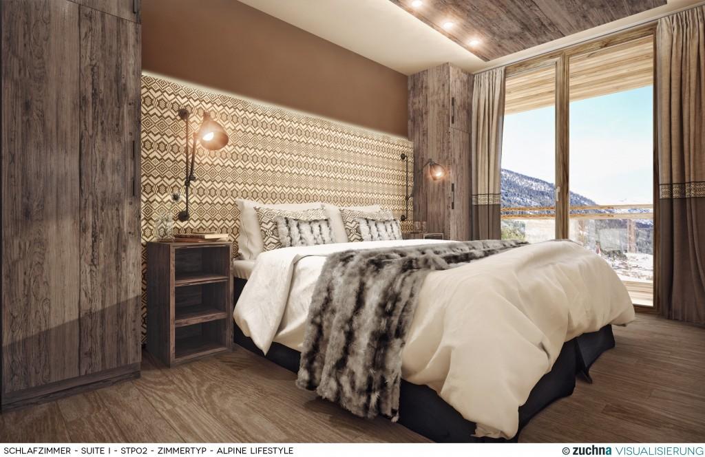 Copy of Hotel Schweizerhof_Schlafzimmer_Suite I_STP02_Zimmertyp - Alpine Lifestyle_Korrektur02