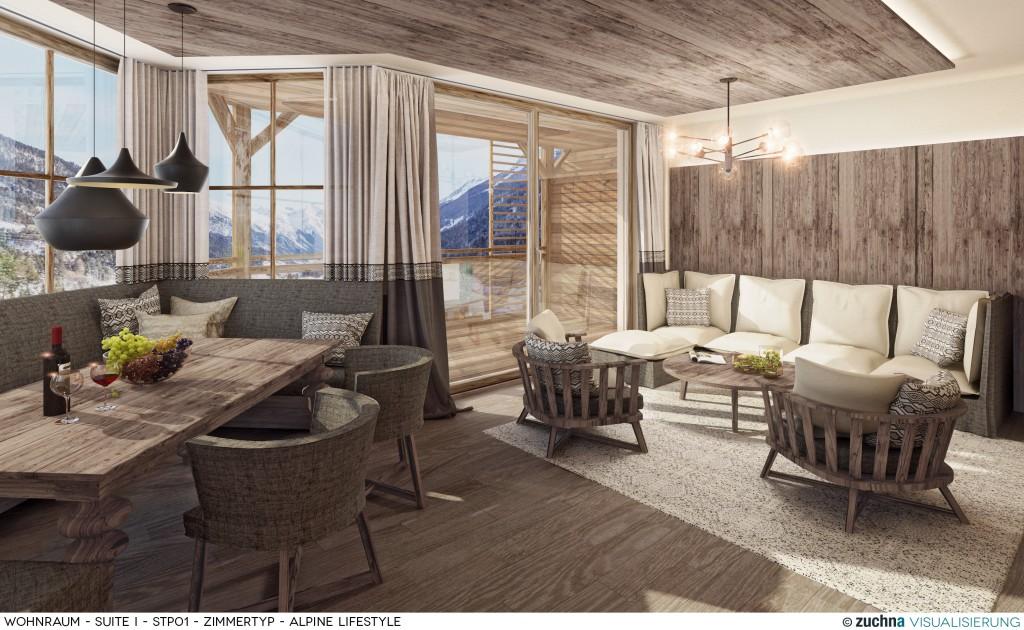 Hotel Schweizerhof_Wohnraum_Suite I_STP01_Zimmertyp - Alpine Lifestyle_Korrektur04