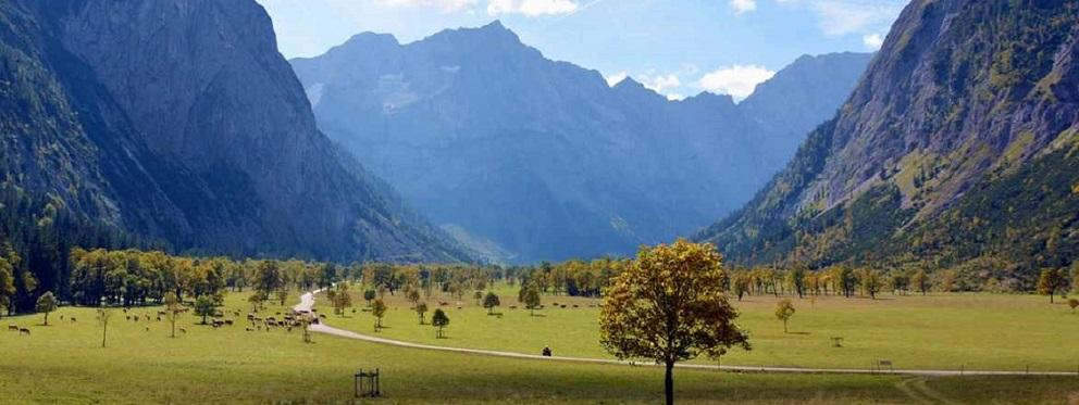 Ahornboden im Karwendelgebirge